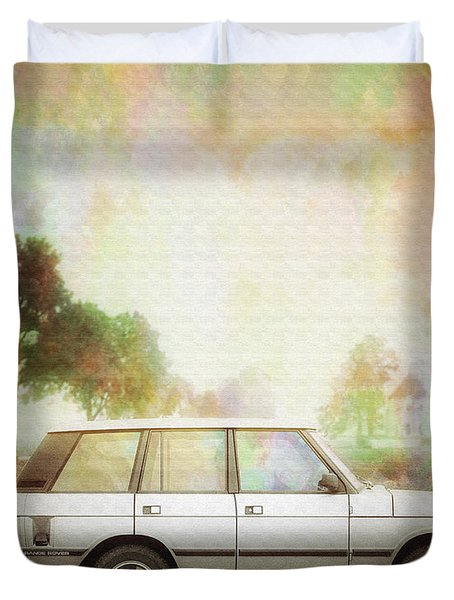 Joys Of Refined Motoring  Duvet Cover by Edmund Nagele