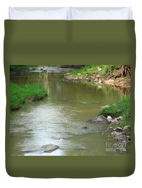 Jubilee Creek Duvet Cover