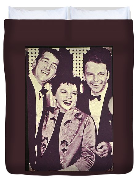 Judy Garland And Friends Duvet Cover by Jay Milo