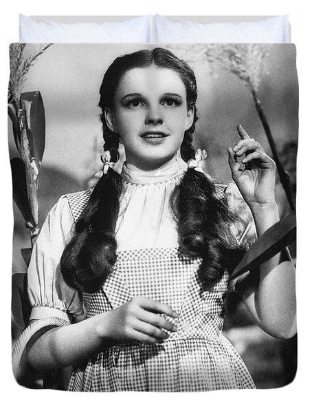 Judy Garland As Dorothy Duvet Cover