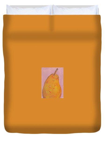 Juicy Pear Duvet Cover