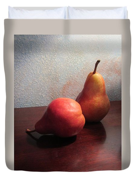 Juicy Still Life Duvet Cover
