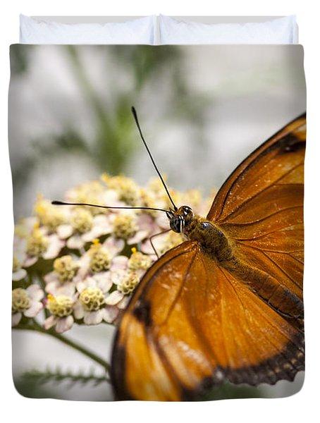 Julia Butterfly Duvet Cover by Adam Romanowicz