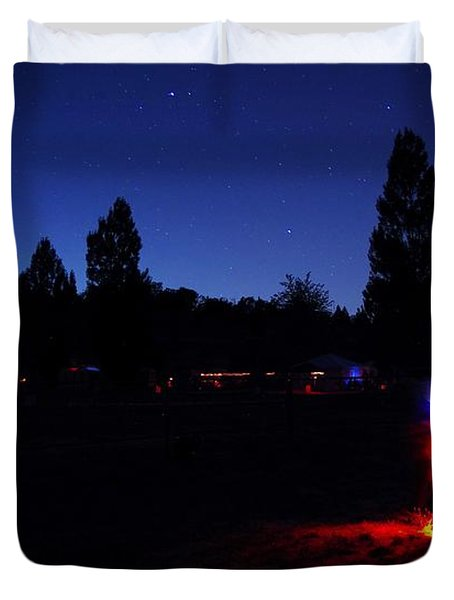 Julian Night Lights 2013 Duvet Cover