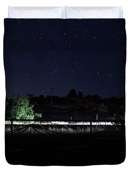 Julian Night Sky Duvet Cover