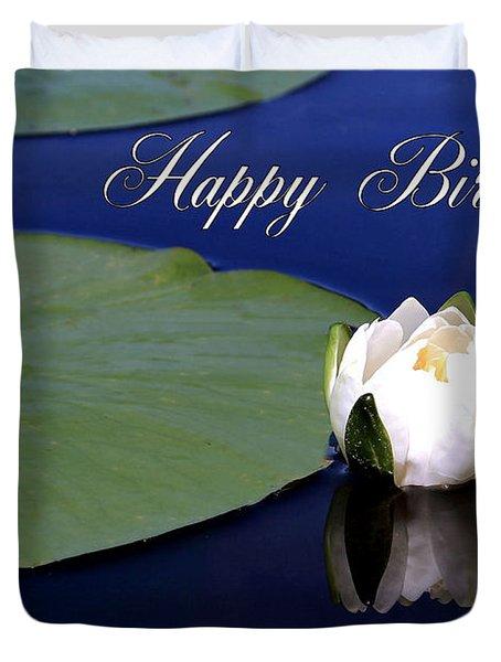 July Birthday Duvet Cover