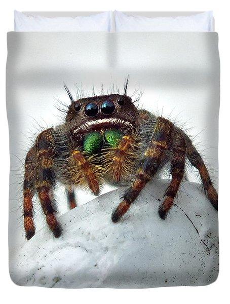 Jumper Spider 2 Duvet Cover