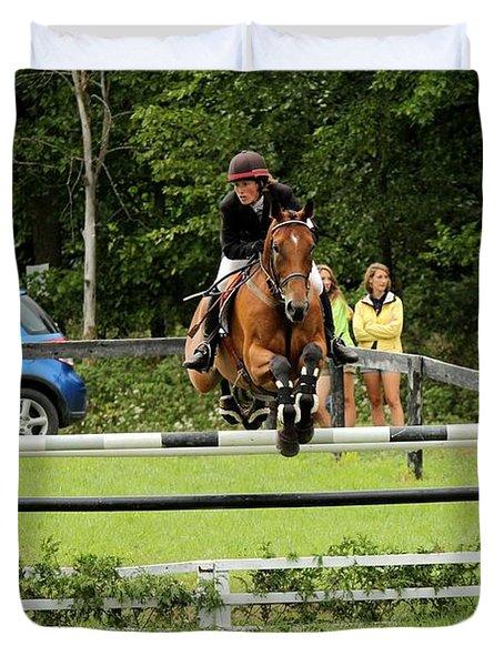 Jumping Eventer Duvet Cover