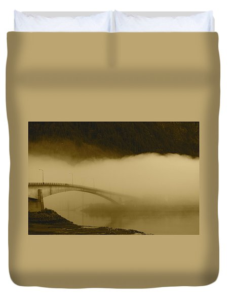 Juneau - Douglas Bridge Duvet Cover