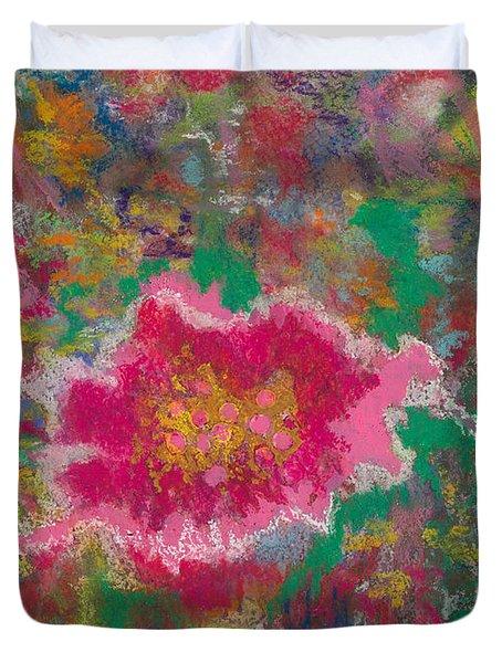 Jungle Flower Duvet Cover