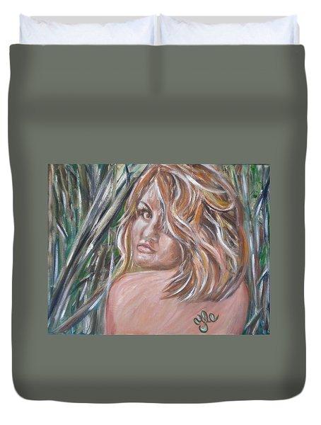 Jungle Nymph Duvet Cover