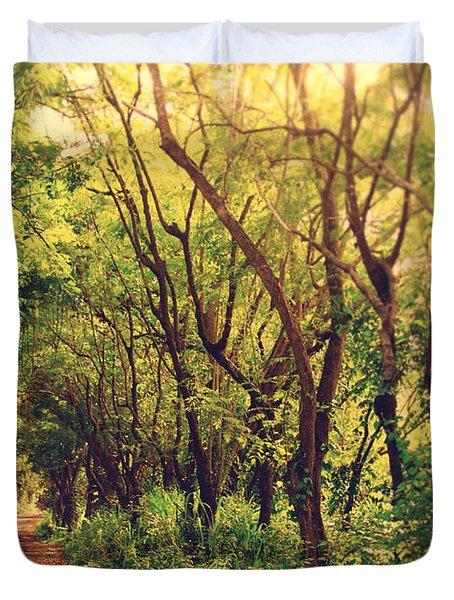 Jungle Path Duvet Cover