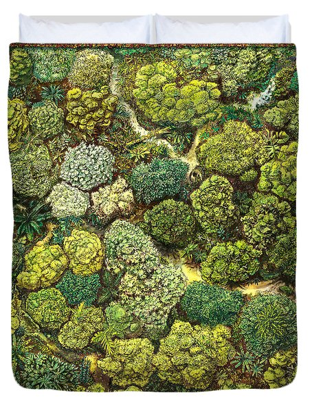 Jungle View Duvet Cover