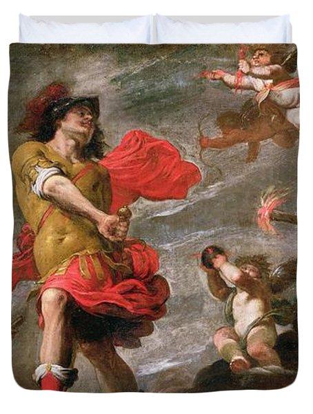Juno And Mars, C.1650 Duvet Cover