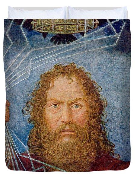 Jupiter Duvet Cover by Hans Thoma