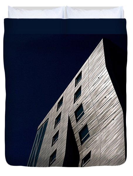 Just A Facade Duvet Cover by Rona Black