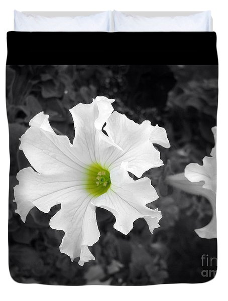 Duvet Cover featuring the photograph Just A Hint by Janice Westerberg