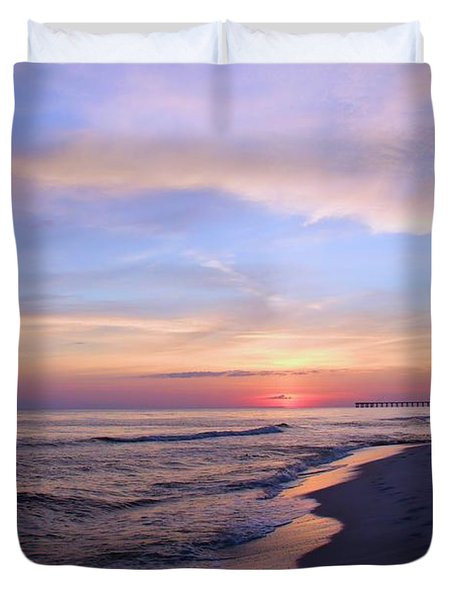 Just After Sunset Duvet Cover