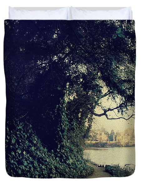 Just Around The Corner Duvet Cover by Laurie Search