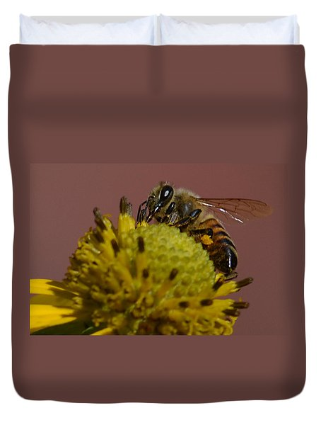 Just Bee Duvet Cover
