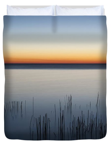 Just Before Dawn Duvet Cover