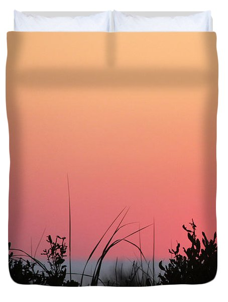 Just Before The Sunrise Duvet Cover