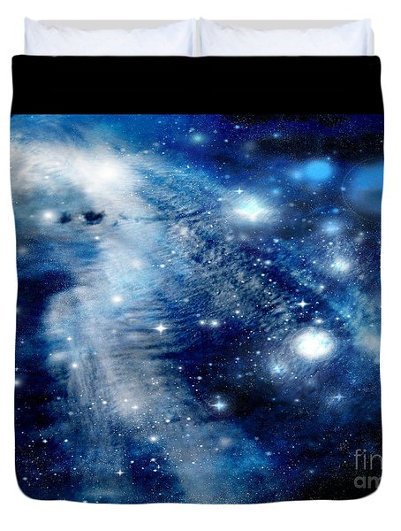 Just Beyond The Moon Duvet Cover