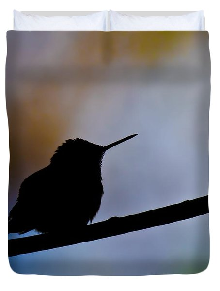Duvet Cover featuring the photograph Just Chillin by Robert L Jackson