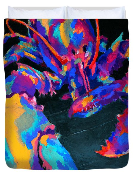 Just Claws Duvet Cover by Stephen Anderson