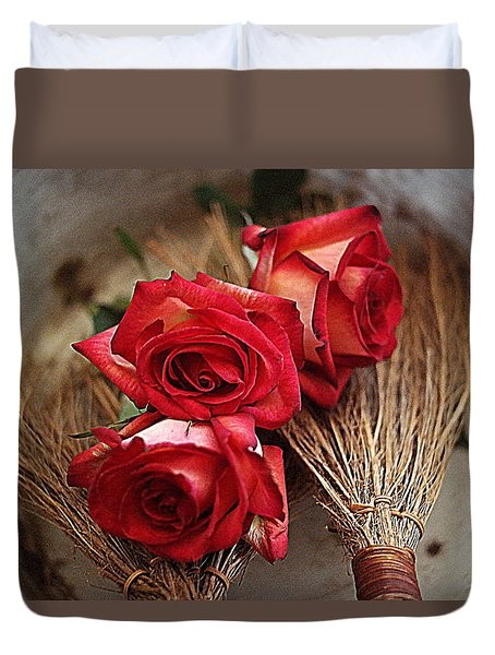 Just For You Duvet Cover by Diana Mary Sharpton