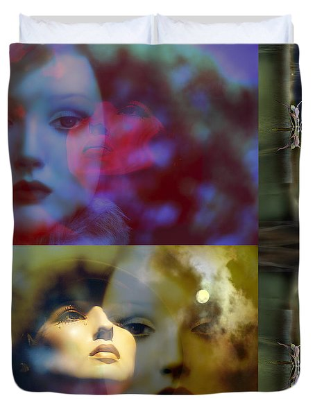 Just Like A Woman  Video Clip Duvet Cover