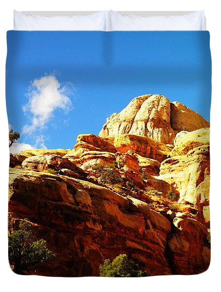Just One Tree Duvet Cover by Jeff Swan