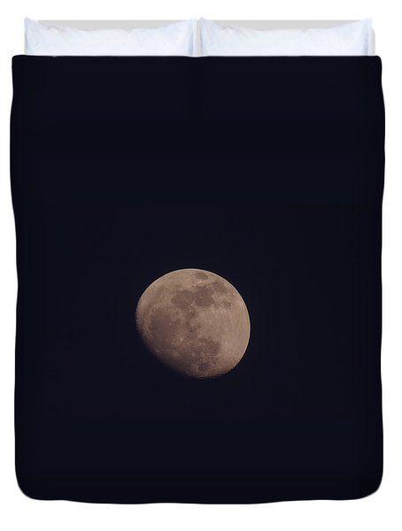 Just The Moon Duvet Cover by Jeff Swan