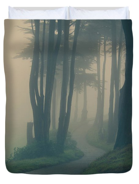 Just Whisper Duvet Cover