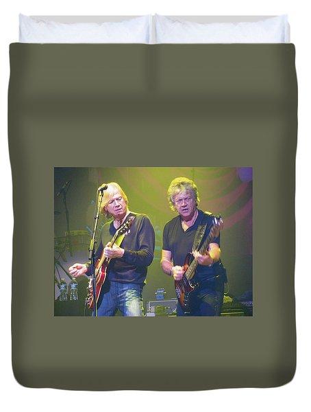 Justin Hayward And John Lodge Duvet Cover