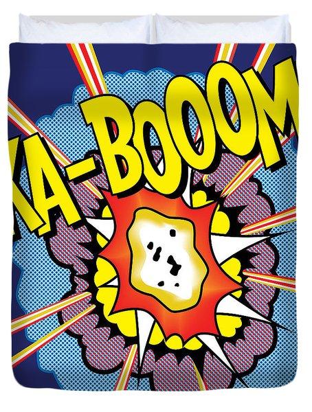 Ka-boom 2 Duvet Cover
