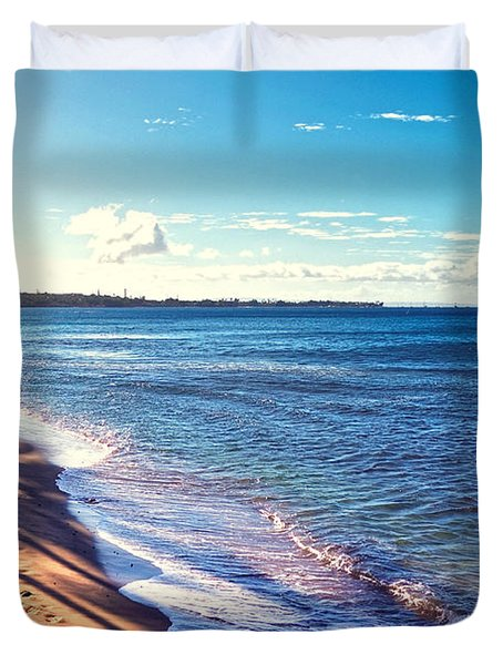Kaanapali Beach Duvet Cover by Lars Lentz
