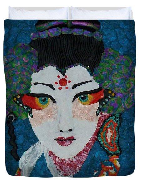 Kabuki Duvet Cover