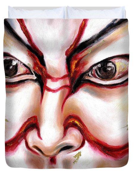 Kabuki One Duvet Cover