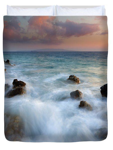 Kahoolawe Sunset Duvet Cover