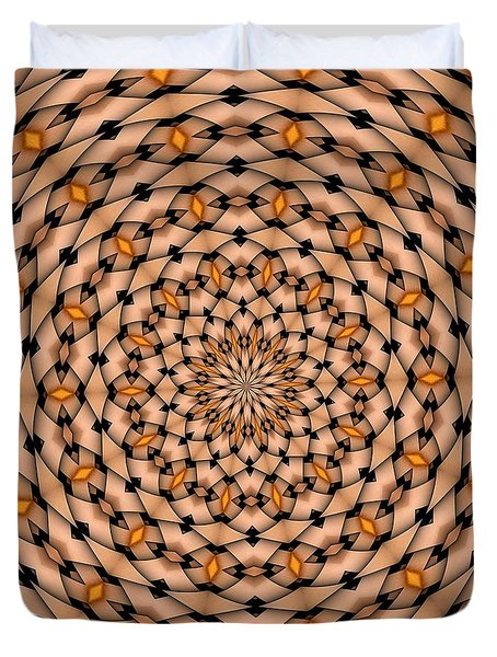 Kaleidoscope 1 Duvet Cover
