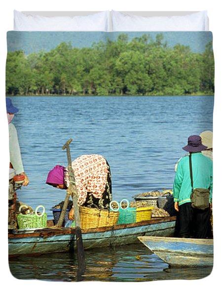 Kampot River Duvet Cover