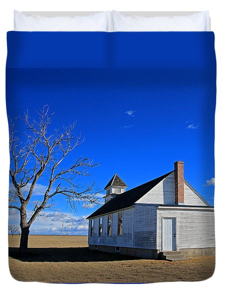 Escue Church Duvet Cover