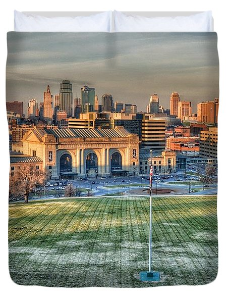Kansas City  Duvet Cover