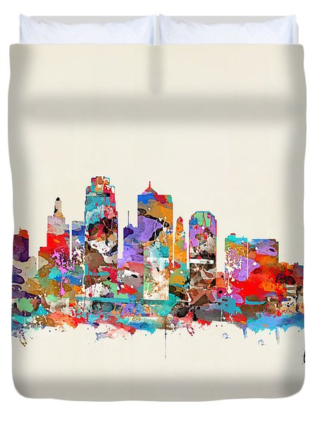 Kansas City Missouri Duvet Cover