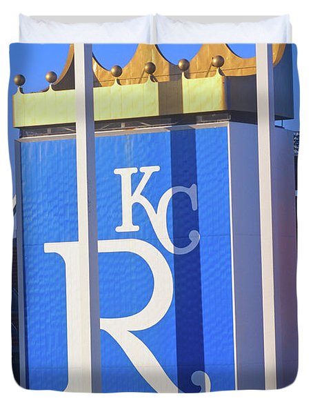 Kansas City Royals, Baseball Stadium Duvet Cover