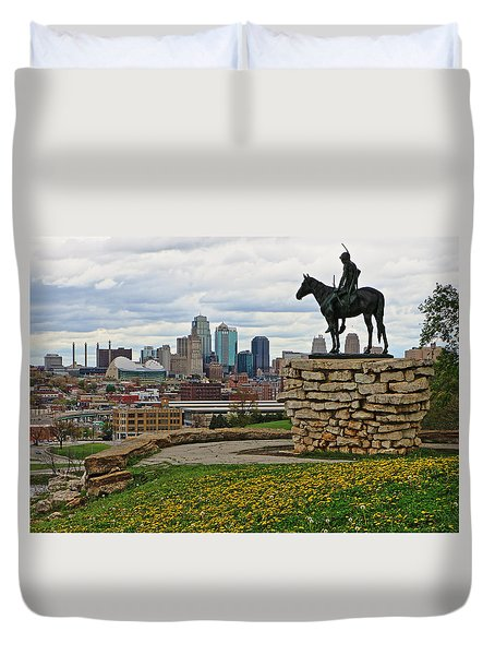 Kansas City Scout Duvet Cover