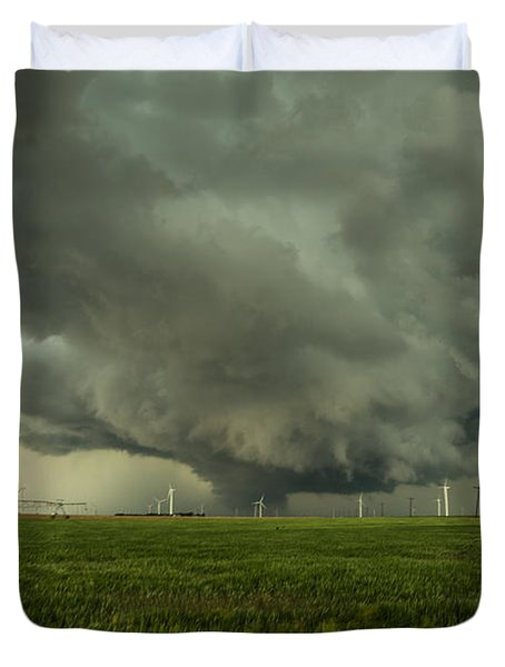 Kansas Wall Duvet Cover