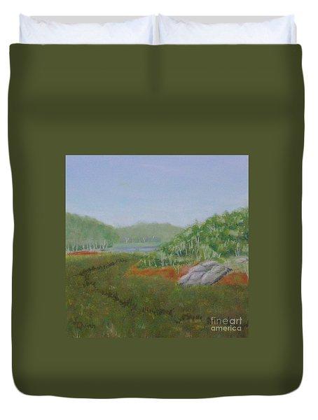Kantola Swamp Duvet Cover