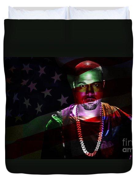 Kanye West Duvet Cover